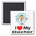 I Love My Doctor Magnet