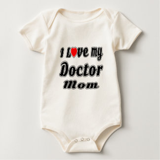 I Love My Doctor Mom Rompers