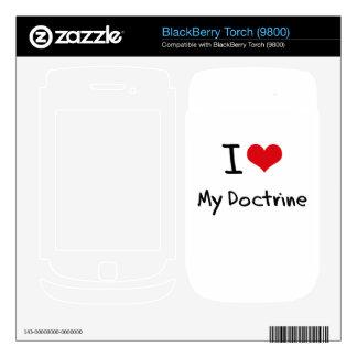 I Love My Doctrine Skin For BlackBerry
