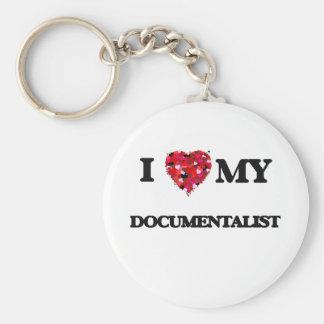 I love my Documentalist Basic Round Button Keychain