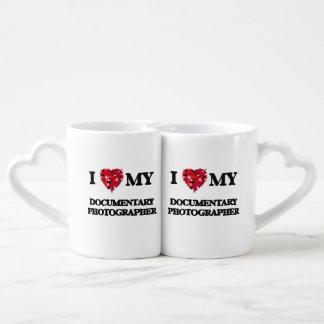 I love my Documentary Photographer Couples' Coffee Mug Set