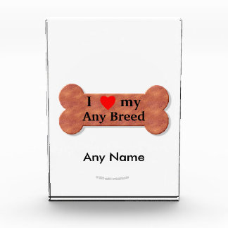 I love my dog breed award