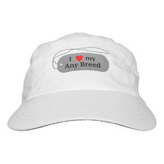 I love my dog breed headsweats hat