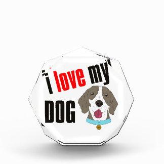 I Love My Dog Cartoon Award