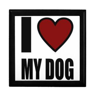 I Love My Dog Gift Box