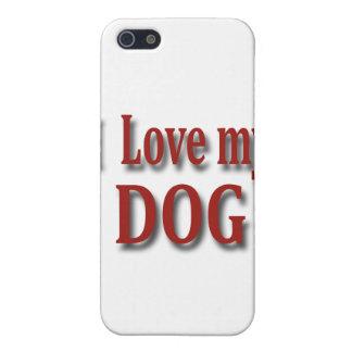 I Love my Dog iPhone SE/5/5s Case