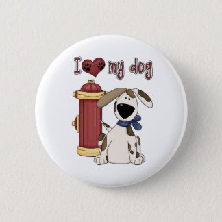 I love my Dog Pinback Button