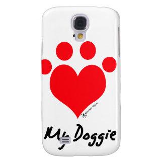 I love my doggie galaxy s4 cover