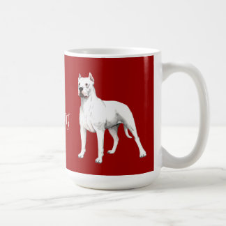 I Love my Dogo Argentino Classic White Coffee Mug