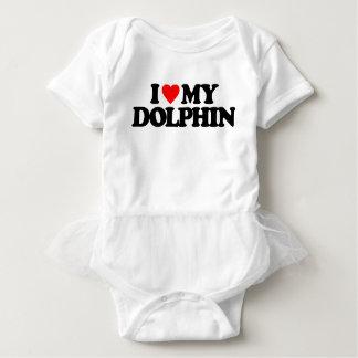 I LOVE MY DOLPHIN BABY BODYSUIT