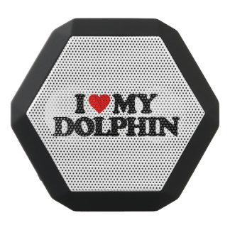 I LOVE MY DOLPHIN BLACK BLUETOOTH SPEAKER