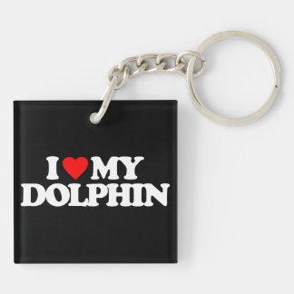 I LOVE MY DOLPHIN KEY CHAINS