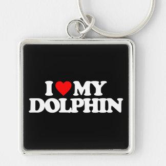 I LOVE MY DOLPHIN KEYCHAIN