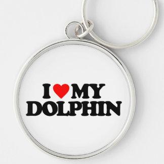 I LOVE MY DOLPHIN KEYCHAINS