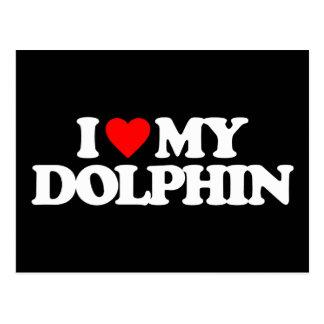 I LOVE MY DOLPHIN POSTCARDS