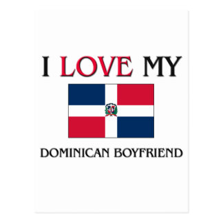 I Love My Dominican Boyfriend Postcard