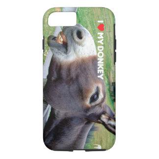 I Love My Donkey Funny Mule Farm Animal iPhone 8/7 Case