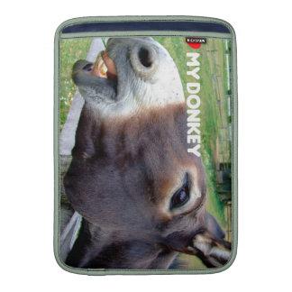 I Love My Donkey Funny Mule Farm Animal MacBook Air Sleeves