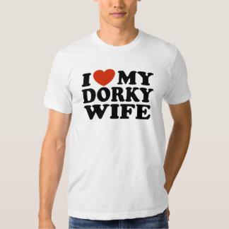 I Love My Dorky Wife Shirt
