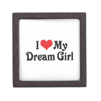 I Love My Dream Girl Jewelry Box