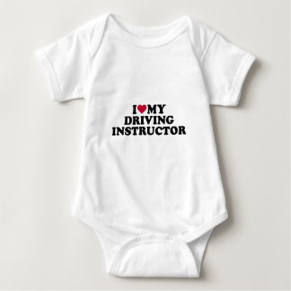 I love my driving instructor baby bodysuit