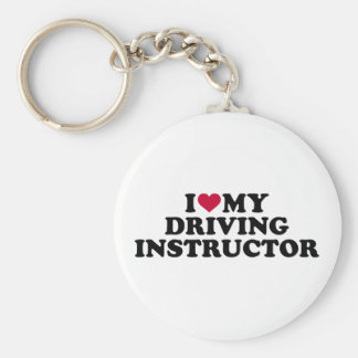 I love my driving instructor keychain