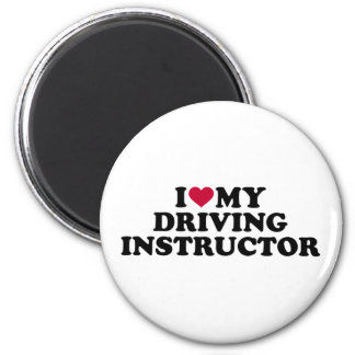 I love my driving instructor magnet