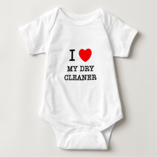 I Love My Dry Cleaner Baby Bodysuit