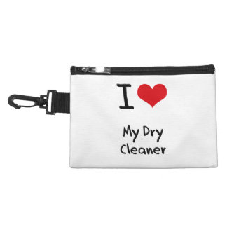 I Love My Dry Cleaner Accessory Bags