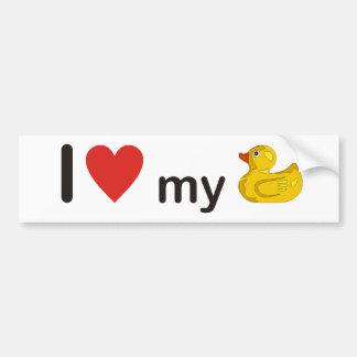 I love my duck bumper stickers
