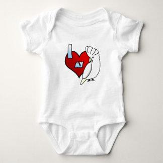 I Love my Ducorps Cockatoo Baby Bodysuit