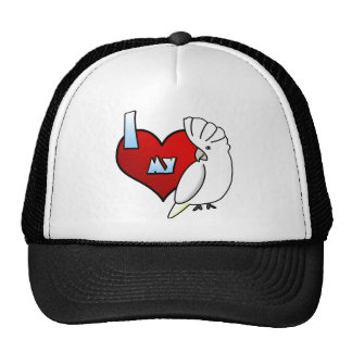 I Love my Ducorps Cockatoo Trucker Hat