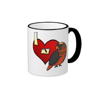 I Love my Dusky Lory Mug