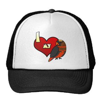 I Love my Dusky Lory Trucker Hat