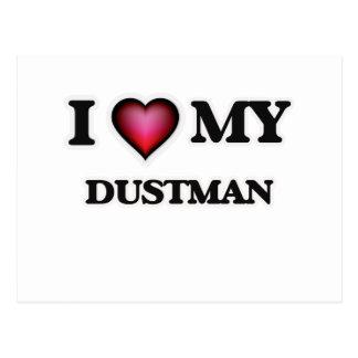 I love my Dustman Postcard