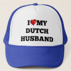 I love my Dutch Husband Trucker Hat
