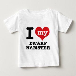 I Love my dwarf hamster T-shirt