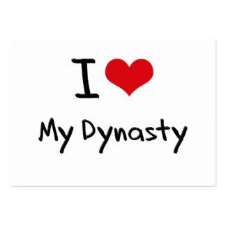 I Love My Dynasty Business Card