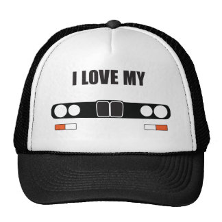 i love my E28 Trucker Hat