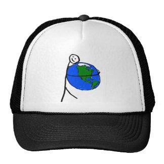 I love my earth s drawing by healing love trucker hat