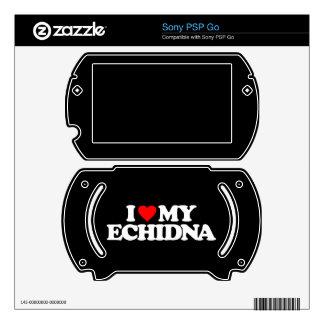 I LOVE MY ECHIDNA PSP GO DECAL