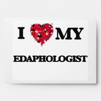 I love my Edaphologist Envelopes