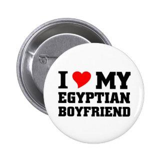 I love my Egyptian Boyfrriend Pinback Buttons