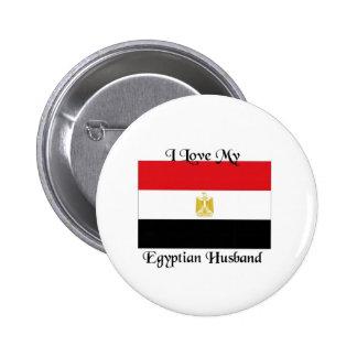 I love my Egyptian Husband Pinback Button
