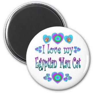 I Love My Egyptian Mau Cat Fridge Magnet