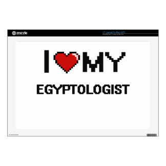I love my Egyptologist Decal For Laptop