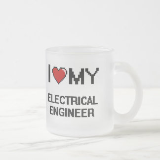 I love my Electrical Engineer 10 Oz Frosted Glass Coffee Mug