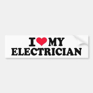 I love my Electrician Bumper Stickers