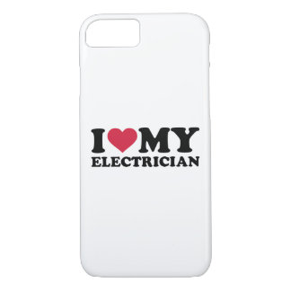 I love my Electrician iPhone 7 Case