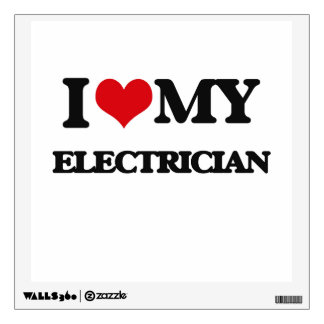 I love my Electrician Wall Decor